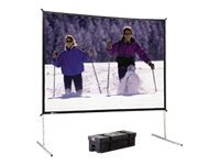 Da-Lite Fast-Fold Deluxe Screen System Video Format Projection screen Da-Mat