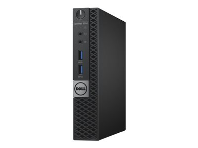 Dell OptiPlex 5050 - micro - Core i5 7500T 2 7 GHz - 4 GB - 128 GB