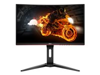 AOC Gaming C24G1 24' 1920 x 1080 VGA (HD-15) HDMI DisplayPort 144Hz