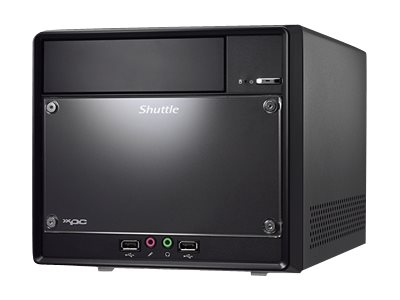 Shuttle XPC SH81R4 Barebone mini PC LGA1150 Socket Intel H81 Express GigE