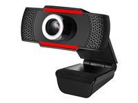 Adesso CyberTrack H3 Web camera color 1.2 MP 1280 x 720 720p audio USB 2.0