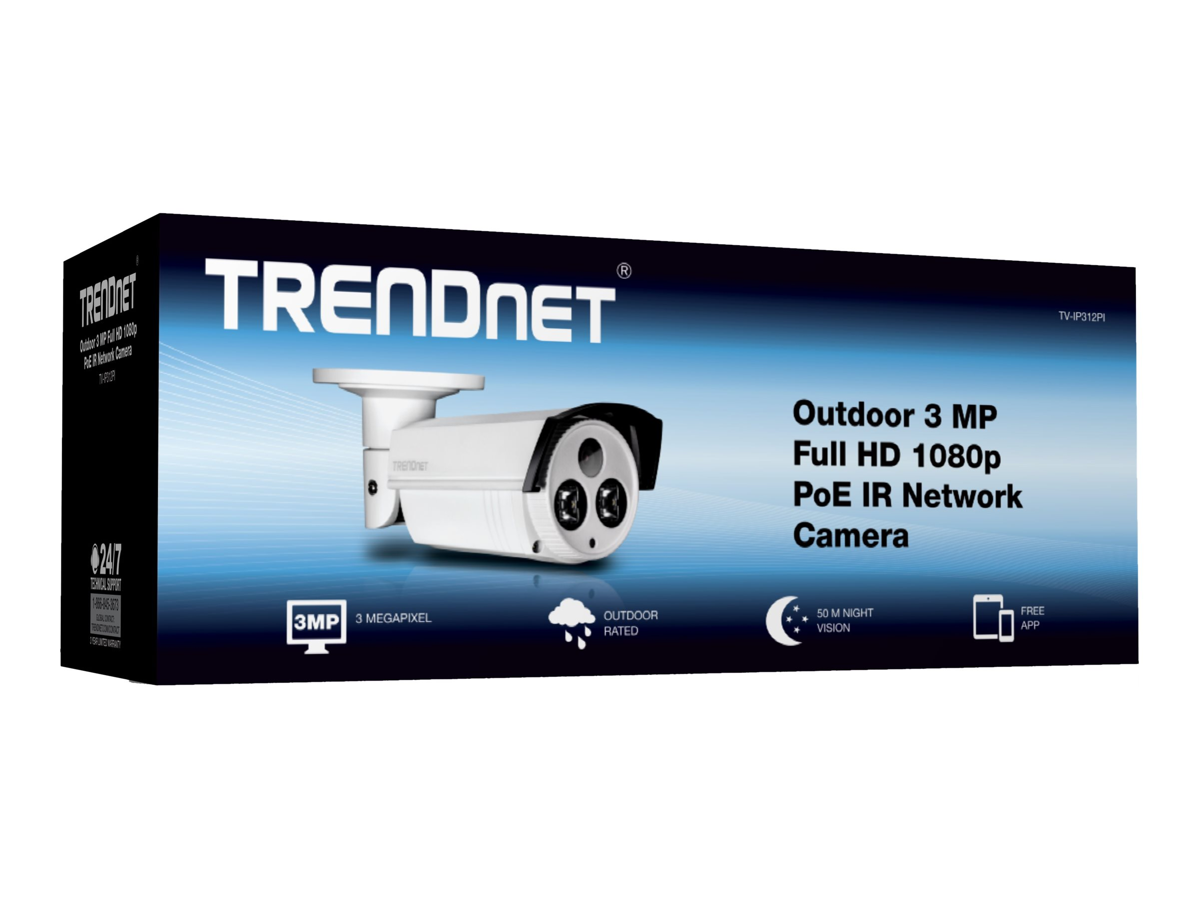 TRENDnet TV IP312PI - network surveillance camera