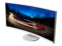 NEC MultiSync EX341R LED monitor curved 34INCH (34INCH viewable) 3440 x 1440 SVA 290 cd/m²  image