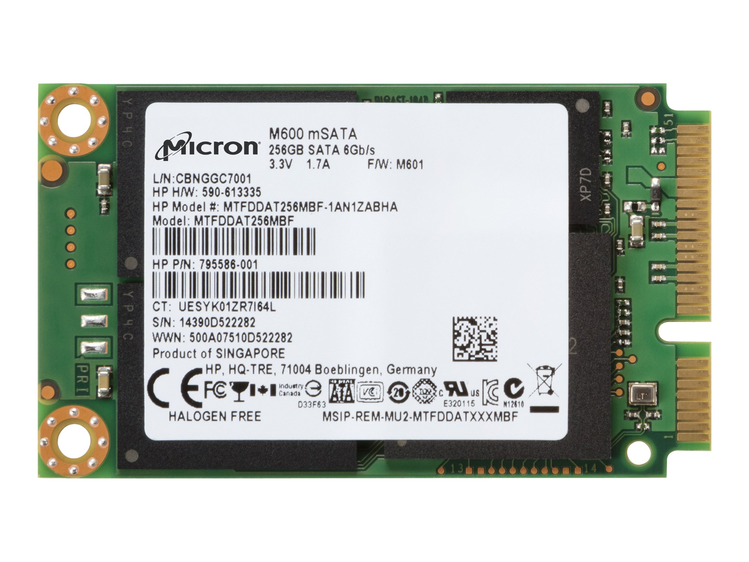 Micron M550 - Solid-State-Disk -...