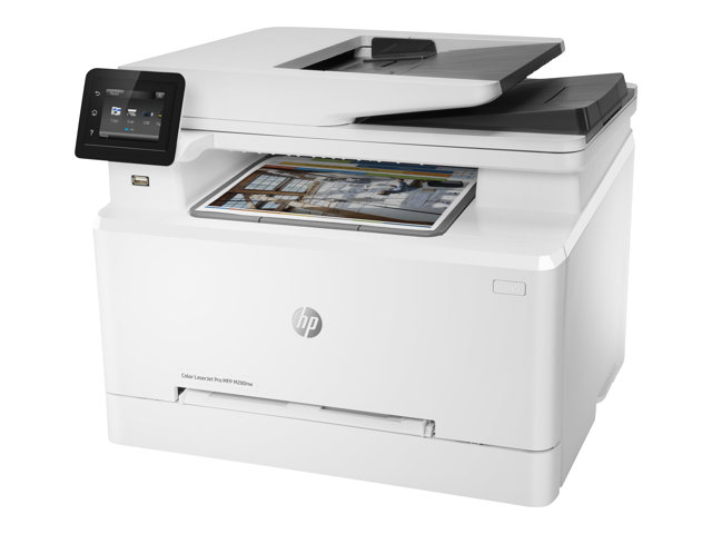 HP Color LaserJet Pro MFP M280nw - Imprimante multifonctions - couleur - laser - Legal (216 x 356 mm) (original) - A4/Legal (support) - jusqu'à 21 ppm (copie) - jusqu'à 21 ppm (impression) - 250 feuilles - USB 2.0, Gigabit LAN, Wi-Fi(n), hôte USB