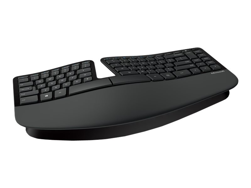 Microsoft Sculpt Ergonomic Keyboard For Business - Tastatur-und-Tastenfeld-Set - drahtlos - 2.4 GHz - Deutsch