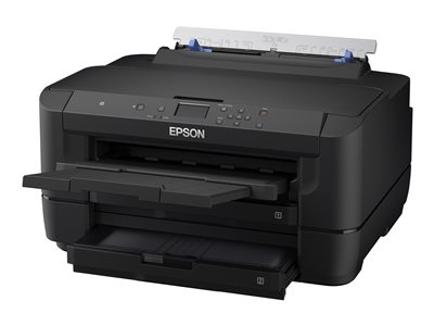 Epson WorkForce WF-7210 - Printer - color - Duplex - ink-jet - A3/Ledger - 4800 x 2400 dpi - up to 18 ppm (mono) / up to 10 ppm (color) - capacity: 500 sheets - USB 2.0, LAN, Wi-Fi(n), NFC