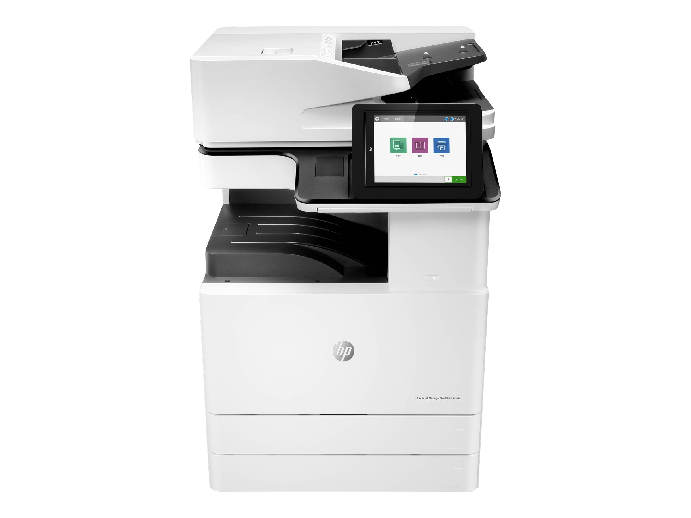 Copieur LaserJet Managed Flow MFP HP E72525z - vitesse 25ppm vue avant
