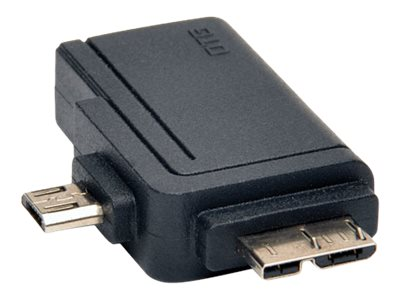 Tripp Lite 2-in-1 OTG Adapter USB 3.0 Micro B & USB 2.0 Micro B to USB A - USB adapter