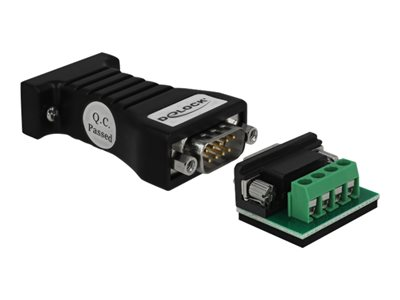Converter 1 x Serial RS-232 DB9 to 1 x Serial RS-485 with ESD protection 15 kV