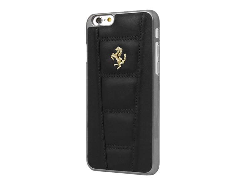 ferrari coque de protection pour iphone 6 noir coques iphone. Black Bedroom Furniture Sets. Home Design Ideas