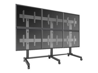 ViewSonic WMK-074 Cart for interactive flat panel / LCD display screen size: 42INCH-46INCH