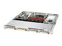 Supermicro SC813M TQ-520C Rack-mountable 1U ATX SATA/SAS hot-swap 520 Watt black