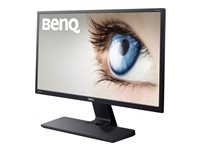 "BenQ GW series GW2270HM - LED monitor - 22"" (21.5"" viewable) - 1920 x 1080 Full HD (1080p) - A-MVA+ - 250 cd/m² - 3000:1 - 5 ms - HDMI, DVI, VGA - speakers - textured black, glossy black"