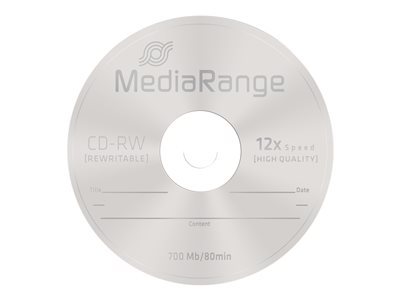 - CD-RW x 10 - 700 Mo - support de stockage