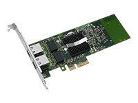 Intel I350 DP - Network adapter - PCIe low profile - Gigabit Ethernet x 2 - for PowerEdge C6320, FC430, FC830, VRTX; PowerEdge C6420, R230, R330, R430, R540, R640, R740