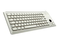 CHERRY Compact-Keyboard G84-4400 - Clavier - USB - français - gris clair