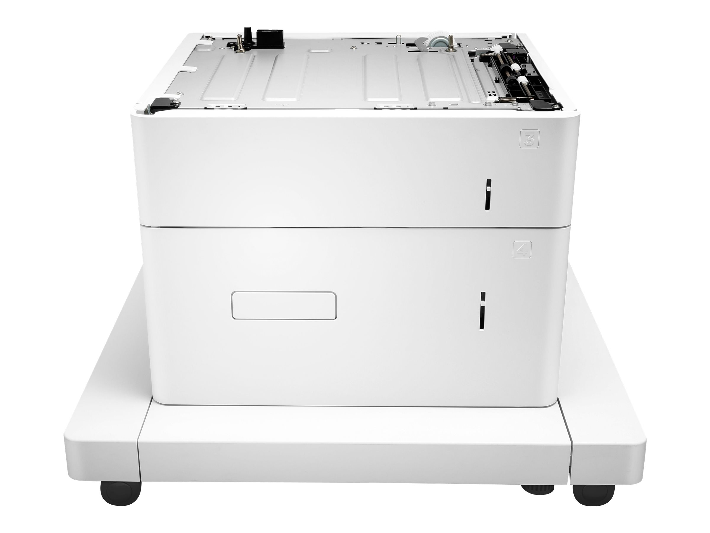 HP Paper Feeder and Stand - printer base with media feeder - 2550 sheets