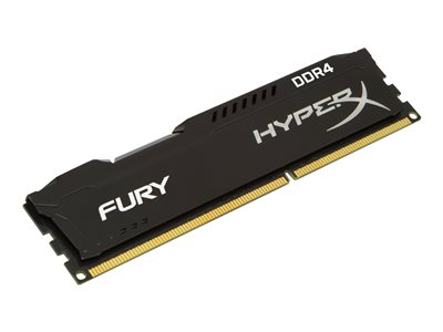 HyperX FURY - DDR4 - 8 GB: 2 x 4 GB - DIMM 288-PIN
