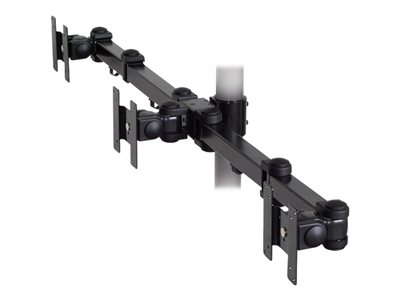 Premier Mounts MM-A3 Mounting component (triple articulating arm) for 3 LCD displays black