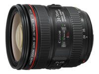 Canon EF - Zoom lens - 24 mm - 70 mm - f/4.0 L IS USM - Canon EF