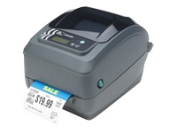 Zebra GX Series GX420t - Label printer - DT/TT - Roll (10.8cm) - 203 dpi - up to 152 mm/sec - parallel, USB, serial
