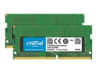 Picture of Crucial - DDR4 - 8 GB: 2 x 4 GB - SO-DIMM 260-pin - unbuffered (CT2K4G4SFS632A)