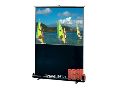 Draper Traveller Projection screen 55INCH (55.1 in) 16:9 Fiberglass Matt