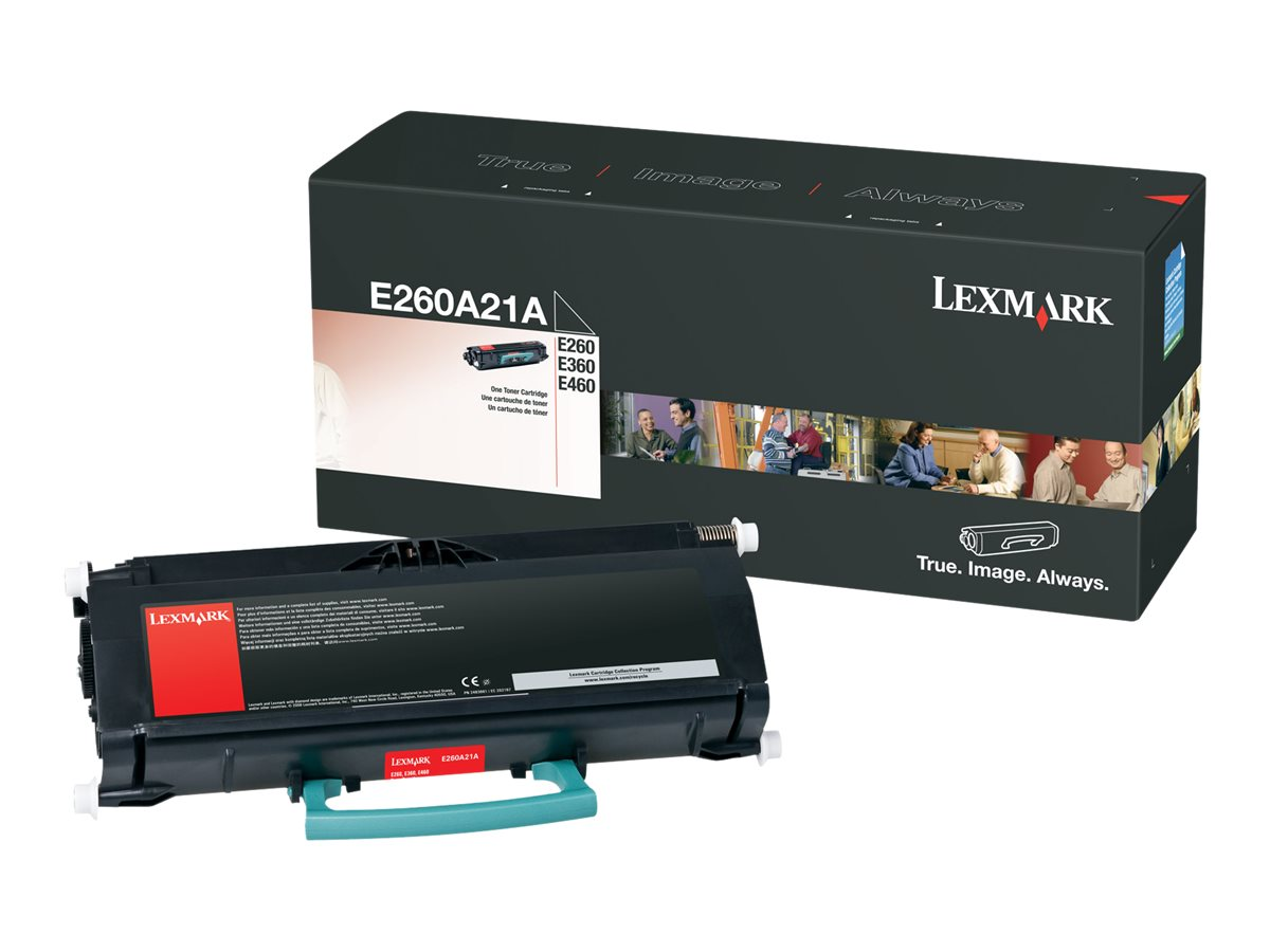 Lexmark - black - original - toner cartridge - LCCP