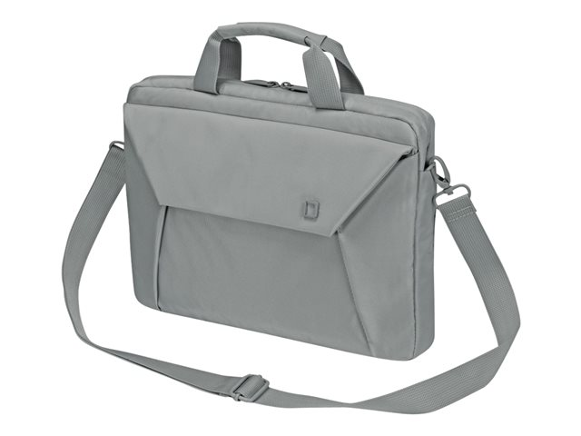 "DICOTA Slim Case EDGE - Sacoche pour ordinateur portable - 13.3"" - gris"