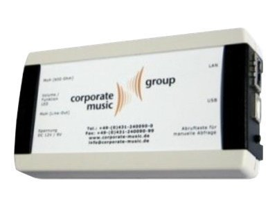 corporate music On Hold TK600 - Telefonwarteschleifen-Musikplayer