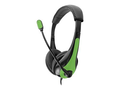 AVID AE-36 Headset on-ear wired black, green