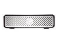 G-Technology G-DRIVE - Hard drive - 8 TB - external (desktop) - USB 3.0 - 7200 rpm - buffer: 64 MB - Plug and Play - silver