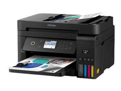 Epson WorkForce ST-3000 EcoTank Color MFP Supertank Printer - multifunction printer - color