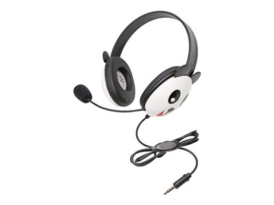 Califone Listening First Stereo Headset 2810-TPA To Go Plug headset full size wired