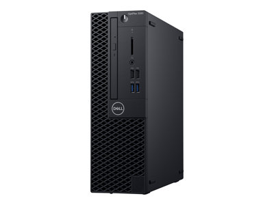 Dell OptiPlex 3060 SFF 1 x Core i3 8100 / 3.6 GHz RAM 8 GB HDD 500 GB DVD-Writer