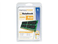 Centon memoryPOWER DDR3 4 GB SO-DIMM 204-pin 1333 MHz / PC3-10600 CL9 1.5 V