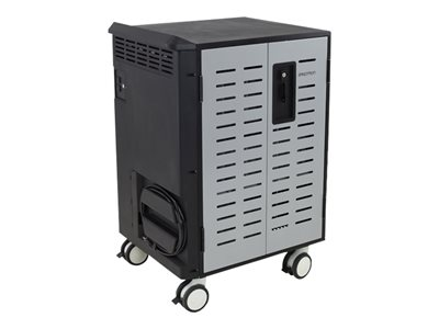 Ergotron Zip40 Charging & Management Cart Cart (charge only) for 40 tablets / notebooks steel