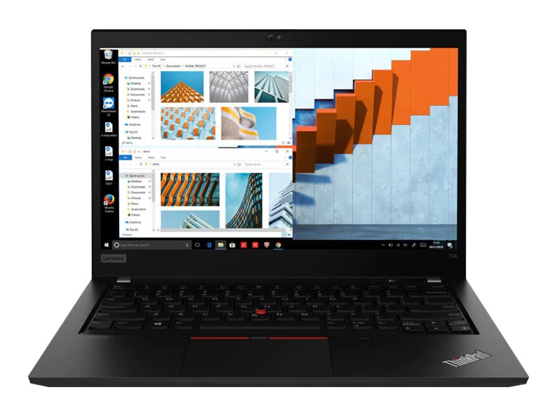 "Lenovo ThinkPad T14 Gen 1 - 14"" - Core i7 10610U - 16 GB RAM - 512 GB SSD - US"