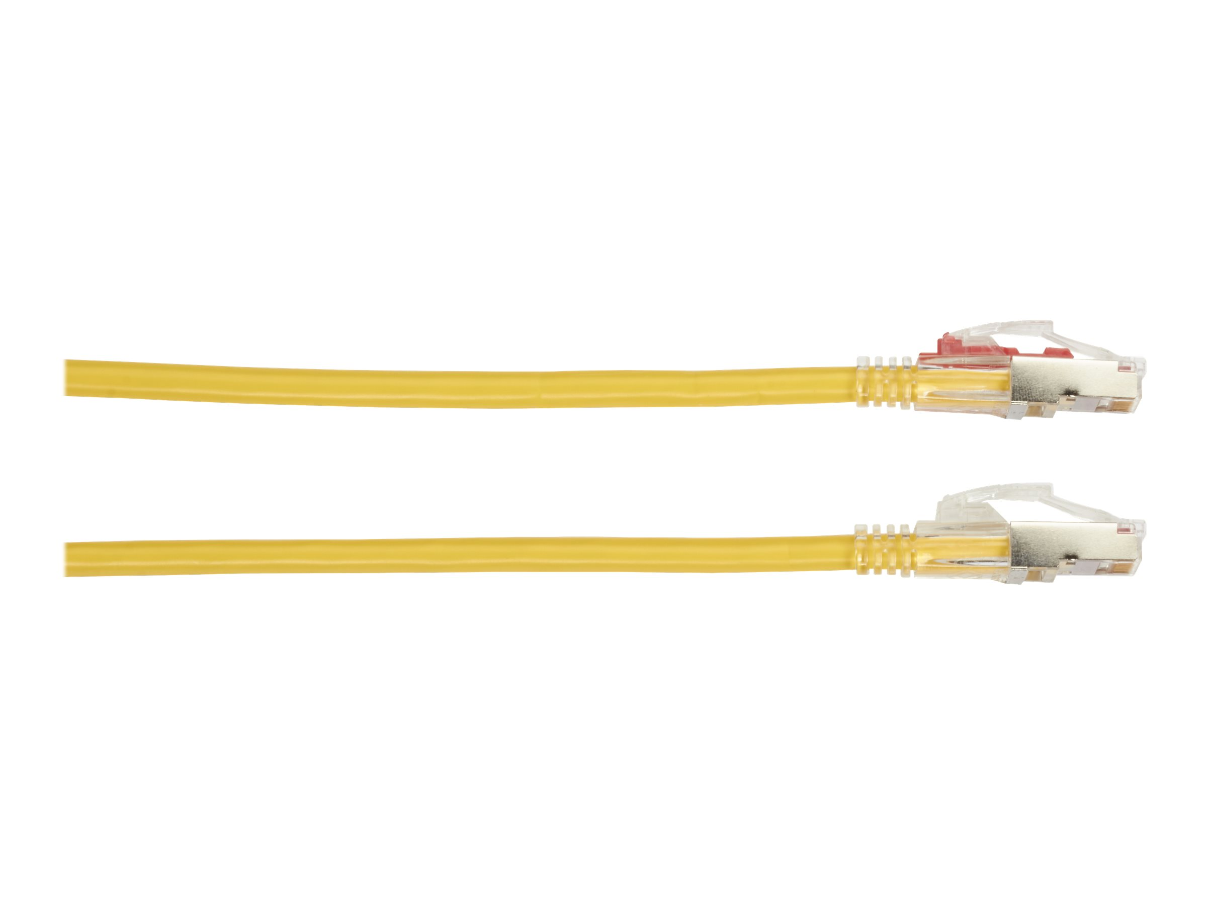 Black Box GigaTrue 3 patch cable - TAA Compliant - 4.57 m - yellow