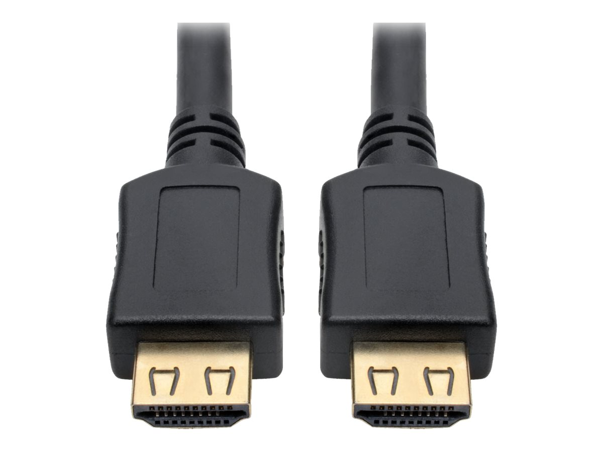 Tripp Lite High-Speed HDMI Cable w/ Gripping Connectors 1080p M/M Black 35ft 35' - HDMI cable - 10.67 m