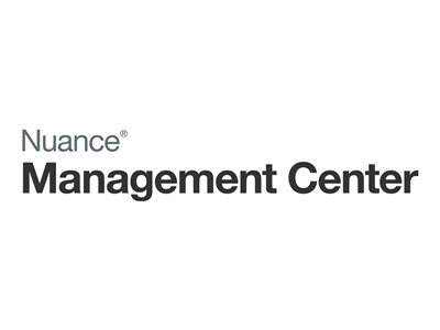 Nuance User Management Center Subscription license (1 year) 1 user OLP level A (5-25) -
