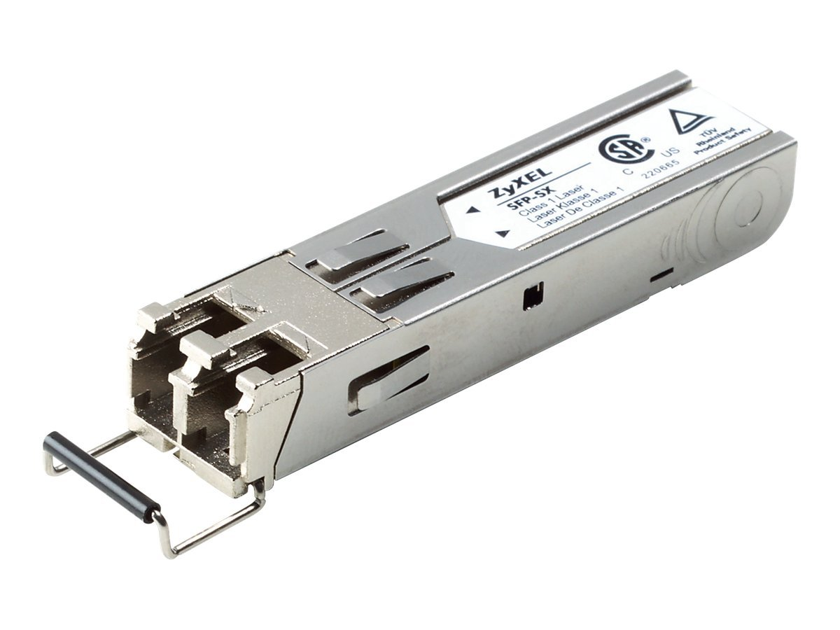 Zyxel SFP-SX-D - SFP (Mini-GBIC)-Transceiver-Modul - Gigabit Ethernet - 1000Base-SX - LC Multi-Mode - bis zu 550 m
