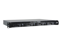 NETGEAR ReadyNAS 2120 RN21241E - NAS server - 4 bays - 4 TB - rack-mountable - SATA 3Gb/s - HDD 1 TB x 4 - RAID 0, 1, 5, 6, 10, JBOD - RAM 2 GB - Gigabit Ethernet - iSCSI - 1U