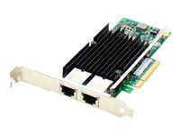 AddOn Network adapter PCIe 3.0 x8 10Gb Ethernet x 2