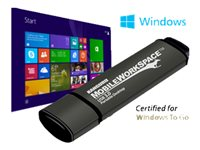 Kanguru Mobile WorkSpace USB flash drive Windows To Go certified encrypted 64 GB