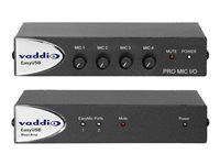 Vaddio EasyTALK Audio Bundle System F Analog mixer with DSP 4-channel
