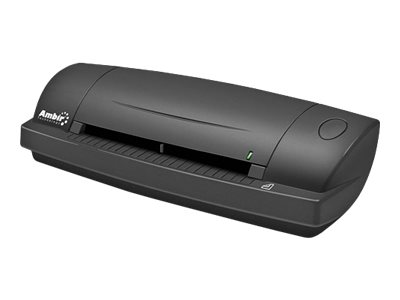 Ambir DS687 Duplex A6 ID Card Scanner - sheetfed scanner - portable - USB 2.0