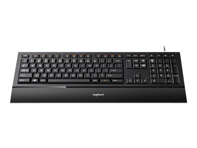 Logitech Illuminated K740 keyboard USB - Nordic