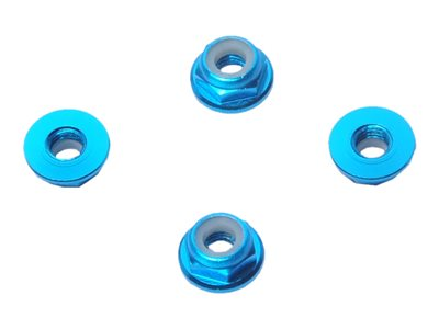 HYPERION - 4mm Flange Lock Nut Set (Low Profile)